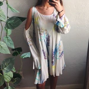 NWOT free people clear skies tunic dress